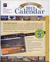 As a fellow geologist and member of GSA, I was honored to have my photo from Dubois, Wyoming of the geology in the Wind River Valley chossen as the cover and for the month of July -- which is actually the month I took the photo.