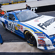 Carl Edwards car after winning the Nationwide Series race at Dover International Speedway in Dover Delaware....