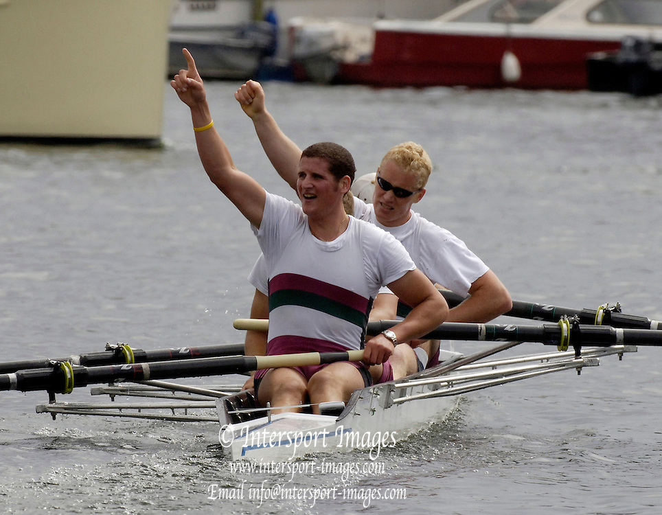 2005 Henley Royal Regatta, Henley on Thames, ENGLAND. 03.07.205  .Sunday Finals day - National University of Ireland, Galway Ireland' winners Visitors' Challenge Cup, . Peter Spurrier.   .email images@intersport-images.[Mandatory Credit Peter Spurrier/ Intersport Images] . HRR.