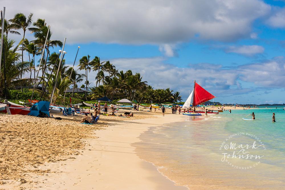 Lanikai Beach, Kailua Bay, Oahu, Hawaii