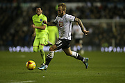 Derby County forward Johnny Russell during the Sky Bet Championship match between Derby County and Brighton and Hove Albion at the iPro Stadium, Derby, England on 12 December 2015.