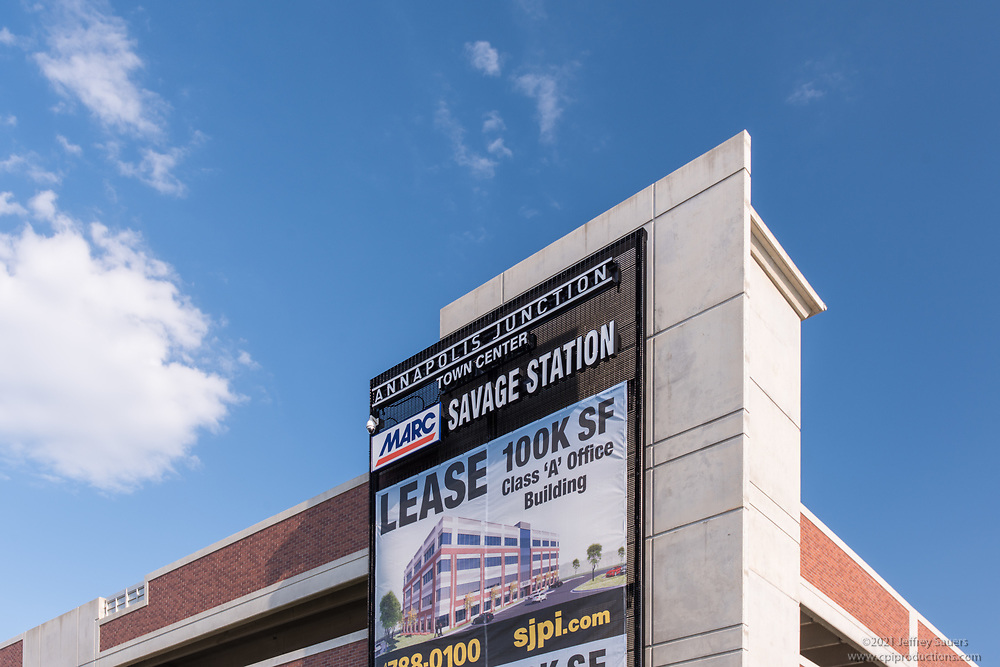 Exterior photo of Office Building at Annapolis Junction in Maryland by Jeffrey Sauers of Commercial Photographics, Architectural Photo Artistry in Washington DC, Virginia to Florida and PA to New England