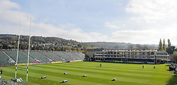 General view of the Recreation Ground, Bath. - Mandatory byline: Alex Davidson/JMP - 07966386802 - 31/10/2015 - RUGBY - Recreation Ground -Bath,England - Bath Rugby v Harlequins - Aviva Premiership