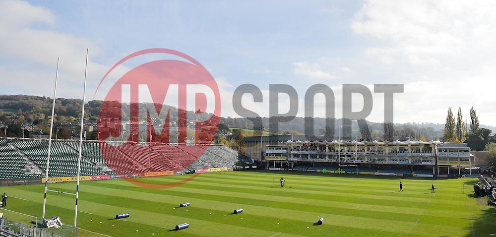 General view of the Recreation Ground, Bath. - Mandatory byline: Alex Davidson/JMP - 07966386802 - 31/10/2015 - RUGBY - Recreation Ground -Bath,England - Bath Rugby v Harlequins - Aviva Premiership