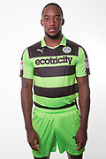 Forest Green Rovers Shamir Mullings(14) during the Forest Green Rovers Photocall at the New Lawn, Forest Green, United Kingdom on 31 July 2017. Photo by Shane Healey.