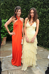 Left to right AMANDA SHEPPARD and SASHA VOLKOVA at the Raisa Gorbachev Foundation Party held at Stud House, Hampton Court Palace on 5th June 2010.  The night is in aid of the Raisa Gorbachev Foundation, an international fund fighting child cancer.