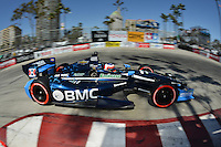 Rubens Barrichello, Toyota Grand Prix of Long Beach, Streets of Long Beach, Long Beach, CA 04/15/12