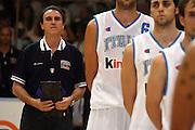 DESCRIZIONE : Bari Amichevole Nazionale Italiana Uomini <br /> Italia-Croazia<br /> ALLENATORE : Carlo Recalcati<br /> SQUADRA : Nazionale Italiana Uomini Italia<br /> EVENTO : Raduno di Bari Nazionale Italia<br /> GARA : Italia Croazia<br /> DATA : 02/06/2007 <br /> CATEGORIA : Ritratto<br /> SPORT : Pallacanestro <br /> AUTORE : Agenzia Ciamillo-Castoria/E.Castoria<br /> Galleria : Fip Nazionali 2007 <br /> Fotonotizia : Bari Amichevole Nazionale Italiana Uomini <br /> Italia-Croazia<br /> Predefinita :