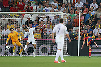 FOOTBALL - UEFA EURO 2012 - DONETSK - UKRAINE  - 1/4 FINAL - SPAIN v FRANCE - 23/06/2012 - PHOTO PHILIPPE LAURENSON /  DPPI - GOAL XABI ALONSO (ESP)