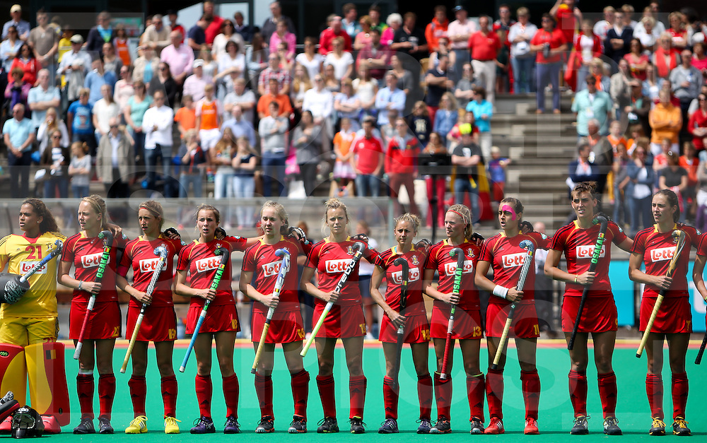 Hockey Womens World league Semi Finals Rotterdam 2013<br /> New Zealand V Belgium 16062013<br /> <br /> <br /> Photo: Grant Treeby / treebyimages