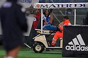 Foto Alfredo Falcone - LaPresse<br /> 23/11/2013 Roma ( Italia)<br /> Sport Rugby<br /> Italia - Argentina<br /> Rugby Test Match - Stadio Olimpico di Roma<br /> Nella foto:<br /> Canale esce per infortunio<br /> Photo Alfredo Falcone - LaPresse<br /> 23/11/2013 Roma (Italy)<br /> Sport Rugby<br /> Italy - Argentina<br /> Rugby Test Match - Olimpico Stadium of Roma<br /> In the pic:Canale