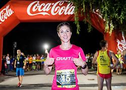 Neja Krsinar at 10th Nocna 10ka 2016, traditional run around Bled's lake, on July 09, 2016 in Bled,  Slovenia. Photo by Vid Ponikvar / Sportida