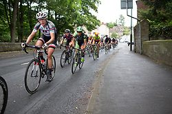 Ellen van Dijk (NED) of Team Sunweb accelerates out of a corner on Stage 4 of the OVO Energy Women's Tour - a 123 km road race, starting and finishing in Chesterfield on June 10, 2017, in Derbyshire, United Kingdom. (Photo by Balint Hamvas/Velofocus.com)