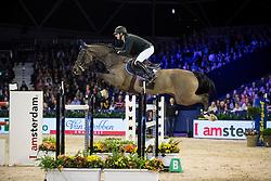 Devos Pieter, (BEL), Dream Of India Greenfield <br /> Anemone Horse Truck Grote Prijs van Amsterdam powered by Stoeterij Sterrehof<br /> Jumping Amsterdam 2017<br /> © Hippo Foto - Leanjo de Koster<br /> 29/01/2017