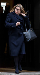 © Licensed to London News Pictures. 12/02/2019. London, UK. Secretary of State for International Development Penny Mordaunt leaves 10 Downing Street after the weekly meeting of the Cabinet. Photo credit: Rob Pinney/LNP