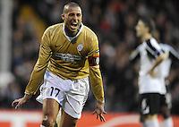 Joie David TREZEGUET - 18.03.2010 - Fulham / Juventus - 8eme Finale Europa League 2009/2010 - Fulham - Londres - Photo : Aldo Liverani / Icon Sport *** Local Caption ***