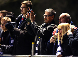 Bristol Rugby fans at Nottingham Rugby - Mandatory by-line: Robbie Stephenson/JMP - 06/04/2018 - RUGBY - The Bay - Nottingham, England - Nottingham Rugby v Bristol Rugby - Greene King IPA Championship