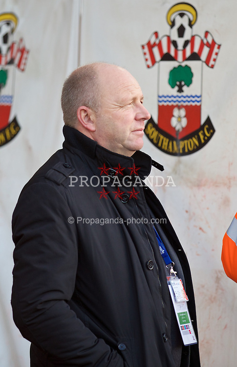 SOUTHAMPTON, ENGLAND - Saturday, December 20, 2014: Karl Pedersen of Premier League Productions during the FA Premier League match at St Mary's Stadium. (Pic by David Rawcliffe/Propaganda)