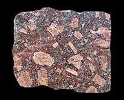 Granite.  Snap granite quarry. Shap, Cumbria, England.