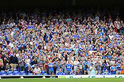 Ipswich Town supporters during the Sky Bet Championship match between Ipswich Town and Brighton and Hove Albion at Portman Road, Ipswich, England on 29 August 2015.