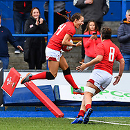 Wales women v South Africa women - Mandatory by-line: Craig Thomas/Replay images - 10/11/2018 - RUGBY - Cardiff Arms Park - Cardiff, Wales - Wales women v South Africa Women - womens Autumn International series