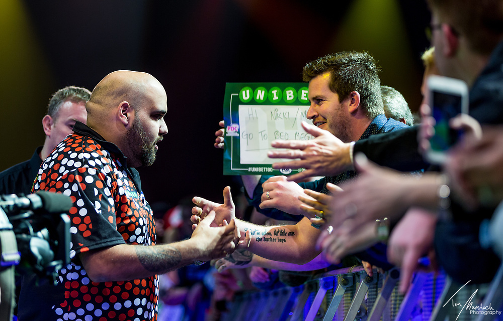 MELBOURNE, Australia - Friday 18 August 2017 :<br /> <br /> during the Unibet Melbourne Dart Masters at Hisense Arena on Friday 18 August 2017.<br /> <br /> <br /> Photo Credit: Tim Murdoch/Tim Murdoch Photography