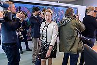 06 NOV 2019, BERLIN/GERMANY:<br /> Franzika Giffey, SPD, Bundesfamilienministerin, auf dem Weg zu ihrem Platz, vor Beginn der Kabinettsitzung, Bundeskanzleramt<br /> IMAGE: 20191106-01-011<br /> KEYWORDS: Kabinett, Sitzung