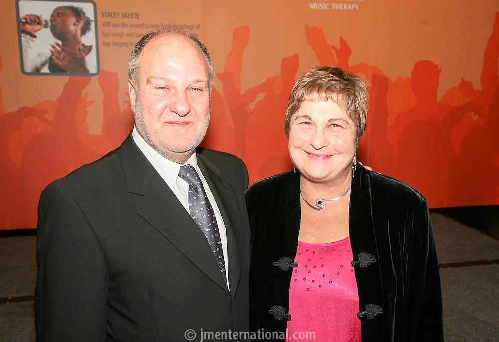 Harvey Goldsmith and Pauline Etkin