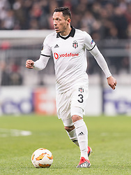Adriano Correia Claro of Besiktas JK during the UEFA Europa League group I match between between Besiktas AS and Malmo FF at the Besiktas Park on December 13, 2018 in Istanbul, Turkey