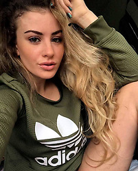 Italy, Milan - August 6, 2017.Police operation against human trafficker.Lukasz Pawel Herba arrested after kidnapping a young British woman he planned to auction on an online slavery market..Here Chloe Ayling the British model (Credit Image: © Fotogramma/Ropi via ZUMA Press)