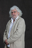 A portrait of Aonghas MacNeacail during the Edinburgh International Book Festival 2012 in Charlotte Square Gardens<br /> <br /> Pic by Pako Mera