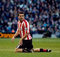 Photo: Jed Wee.<br /> Manchester City v Sunderland. The Barclays Premiership. 05/03/2006.<br /> <br /> Sunderland's Julio Arca.