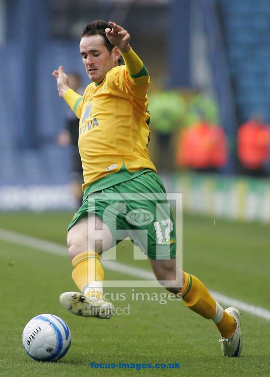 Sheffield - Sunday November 29th, 2008: David Bell of Norwich City during the Coca Cola Championship match against Sheffield Wednesday at Hillsborough, Sheffield. (Pic by Michael Sedgwick/Focus Images)