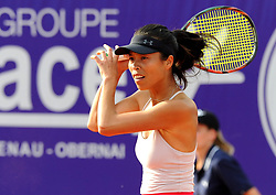 May 23, 2018 - France - Internationaux de tennis de Strasbourg - Su-wei HSIEH Taipei (Credit Image: © Panoramic via ZUMA Press)