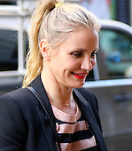 Cameron Diaz Out In NY