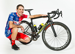 Gregor Gazvoda during photo session of Cycling Team KK Adria Mobil, on January 22, 2018 in Novo Mesto, Novo Mesto, Slovenia. Photo by Vid Ponikvar / Sportida