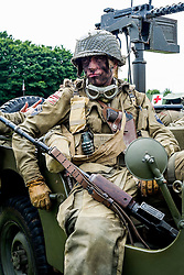 Cleethorpes 2015 82nd Airborne<br /> <br /> August 2015<br />  Image &copy; Paul David Drabble <br />  www.pauldaviddrabble.co.uk