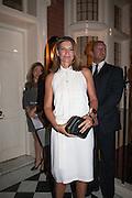 NATALIE MASSENET, London fundraising dinner for President Barack Obama. <br /> <br /> Mark's Club, 46 Charles Street, London, W1J 5EJ, 19 September 2012