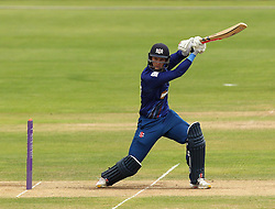Gloucestershire's Gareth Roderick cuts a shot - Mandatory by-line: Robbie Stephenson/JMP - 07966386802 - 04/08/2015 - SPORT - CRICKET - Bristol,England - County Ground - Gloucestershire v Durham - Royal London One-Day Cup