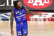 Moss David delusione, GERMANI BASKET BRESCIA vs EA7 EMPORIO ARMANI OLIMPIA MILANO, gara 4 Semifinale Play off Lega Basket Serie A 2017/2018, PalaGeorge Montichiari (BS) 30 maggio 2018 - FOTO: Bertani/Ciamillo