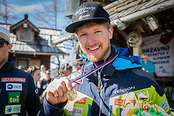 Kosi Klemen during the downhill of Open National Championship of Slovenia 2019, on March 30, 2019, on Krvavec, Slovenia. Photo by Urban Meglic / Sportida