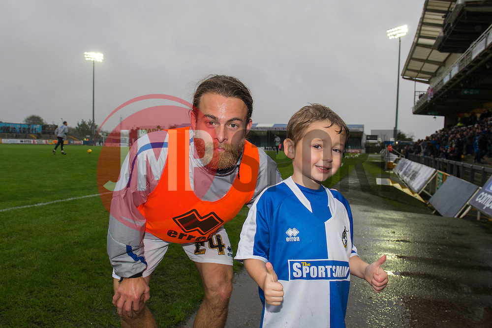 Mascot - Mandatory byline: Dougie Allward/JMP - 07966 386802 - 14/11/2015 - FOOTBALL - Memorial Stadium - Bristol, England - Bristol Rovers v Carlisle United - Sky Bet League Two