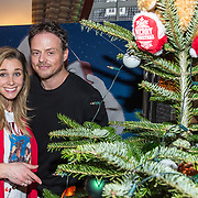 NLD/Amsterdam/20181206 - Sky Radio's Christmas Tree For Charity, Ellen Hoog met partner Kelvin de Lang