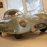 Porsche Type 64, chassis no. 38/41, at the Prototyp Museum, Hamburg, Germany, 2009