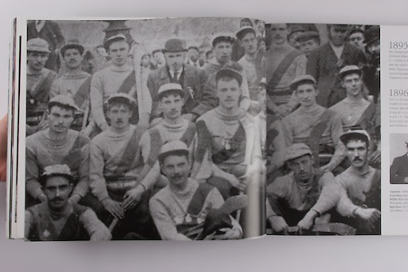 Tipperary (Tubberdora) - All Ireland Hurling Champions 1895/96. Front Row: John Connolly, W Devane, Thade Flanagan, Jack Maher. Middle Row: Ned Brennan, Tommy Ryan, Denis Walsh, Mickey Maher (capt), Phil Scanlon, John Walsh, Phil Byrne. Back Row: Tim Condon, Jim Flanagan, Paddy Doherty, Thomas Leahy (Pres), Ned Maher, Jack Maher, E D Ryan, John Maher.