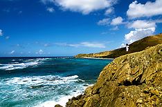 Hiking St Croix USVI at Pt Udall by Lee Foster