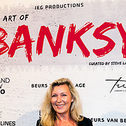 NLD/Amsterdam/20160617 - The Art of Banksy - Opening night, Saskia Noort