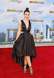 Ashley Iaconetti at the World premiere of 'Spider-Man: Homecoming' held at the TCL Chinese Theatre in Hollywood, USA on June 28, 2017.