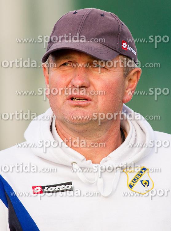 Matjaz Kek, head coach of Rijeka during Friendly football match between NK Triglav and HNK Rijeka on June 25, 2013 in Sports park Kranj, Slovenia. (Photo by Vid Ponikvar / Sportida.com)