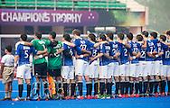 BHUBANESWAR  (INDIA) -   Argentina vs Germany on day 3 of the Hero Champions Trophy Hockey.   Photo KOEN SUYK
